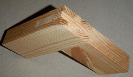 houtverbindingen: slisverbinding