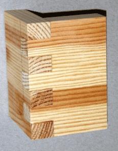 houtverbindingen: tandverbinding