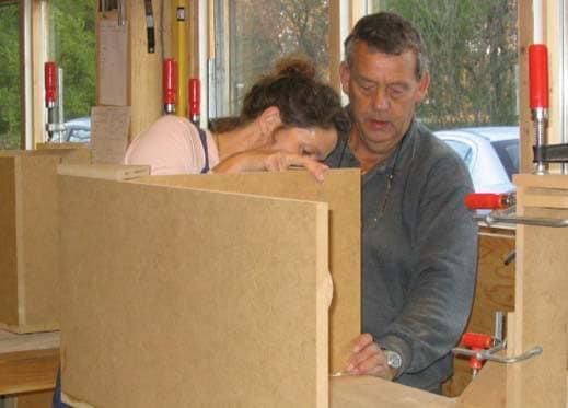 grote meubels en keukens bouwen